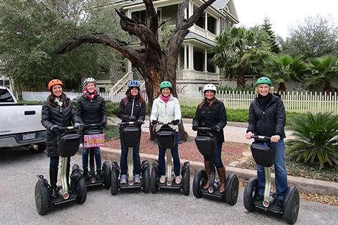 Individuals enjoying this free thing to do in Galveston