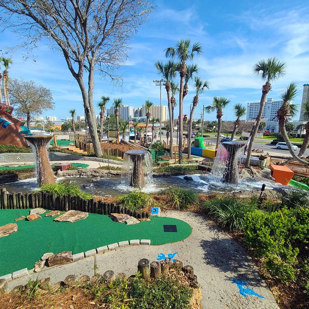 Tropical Mini Golf at Big Kahuna's